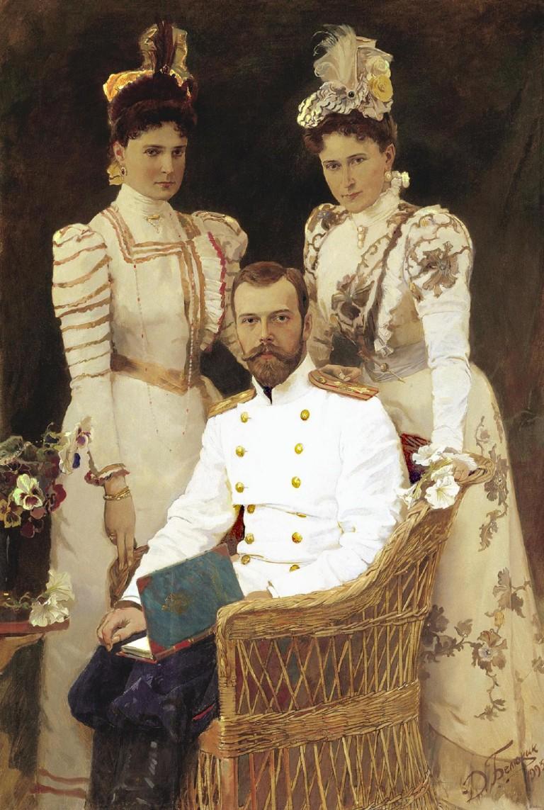 dmitri-belyukin-portrait-of-tsar-st-nikolai-tsaritsa-st-aleksandra-and-grand-princess-st-yelizaveta1-e1270948490117