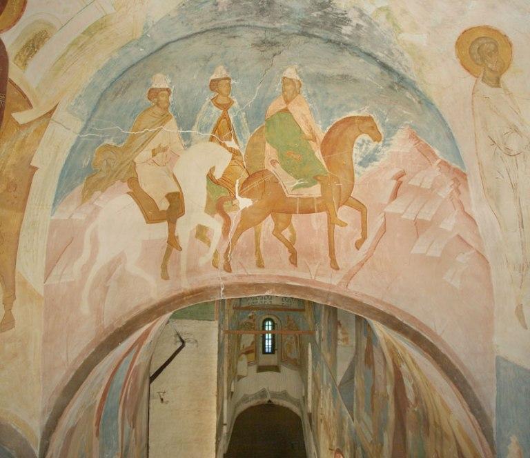 """""""Having become God-bearing heralds, the Magi..."""" (Akathist, Kontakion 6)"""