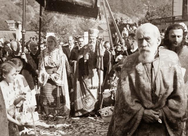 Mitropolitul-Nicolae-Bălan-Principesa-Ileana-cu-soțul-său-Părintele-Arsenie-Boca