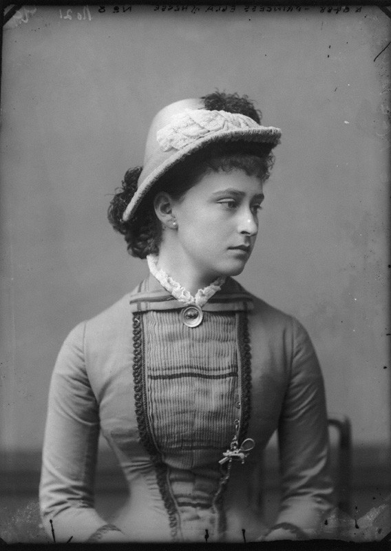 NPG x95937; Princess Elizabeth Feodorovna, Grand Duchess Serge of Russia by Alexander Bassano