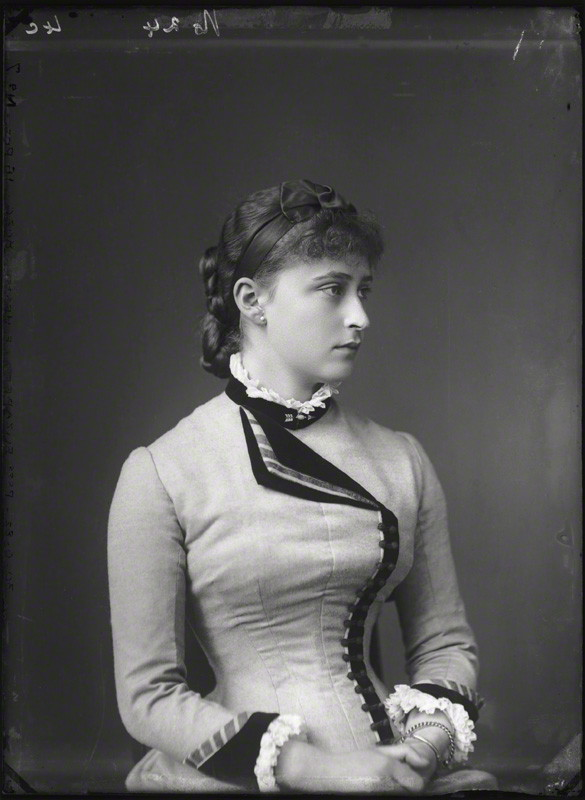 NPG x95948; Princess Elizabeth Feodorovna, Grand Duchess Serge of Russia by Alexander Bassano