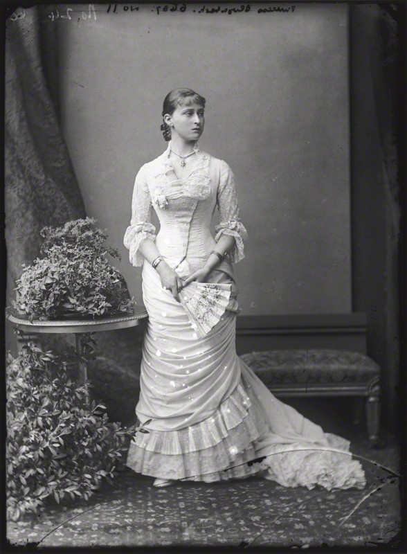 NPG x95949; Princess Elizabeth Feodorovna, Grand Duchess Serge of Russia by Alexander Bassano