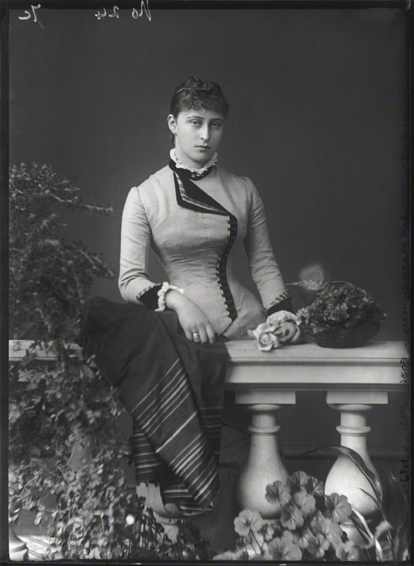 NPG x95950; Princess Elizabeth Feodorovna, Grand Duchess Serge of Russia by Alexander Bassano