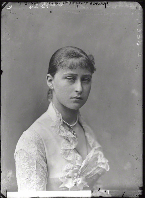 NPG x95947; Princess Elizabeth Feodorovna, Grand Duchess Serge of Russia by Alexander Bassano